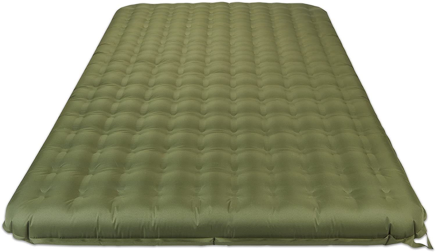 Lightspeed Outdoors 2-Person PVC-Free Air Bed with Battery Operated Pump is the best thin air mattress for camping